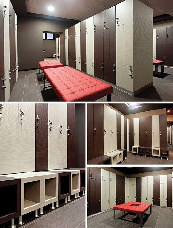 Reception desks desk gym lockers locker