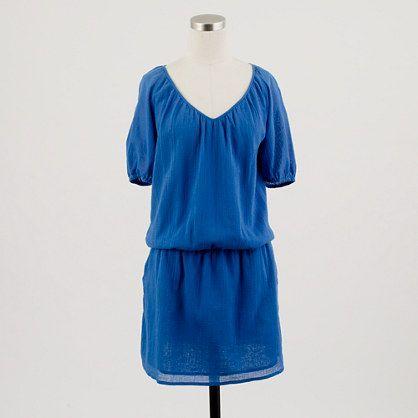Whisper gauze siesta dress - jcrew  Favorite summer dress of 2012:)