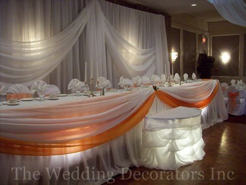 Reception, Orange, Decor, Bridal, Table, Elegant, Theme, The wedding decorators inc, Colour
