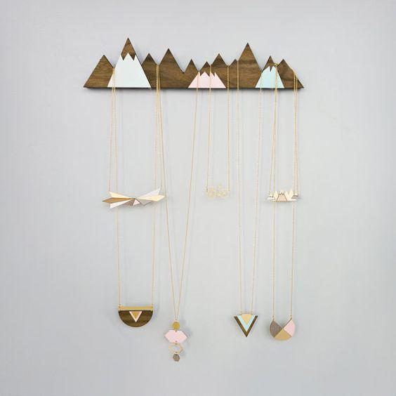 Affichage de bijoux montagnes cintre de bijoux par shlomitofir