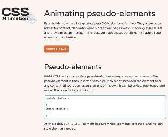 Animating Pseudo-Elements, #Animation, #Buttons, #Code, #CSS, #CSS3, #HTML, #HTML5, #Pseudo_Elements, #Tutorial, #Web #Design, #Development