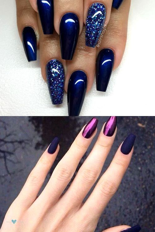 37 Snatching Nail Designs You Have To Try In 2020 Coffin Nails Designs Gel Nail Designs Glitter Gel Nails