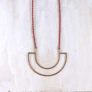 Image of Stone & Honey Janua Necklace