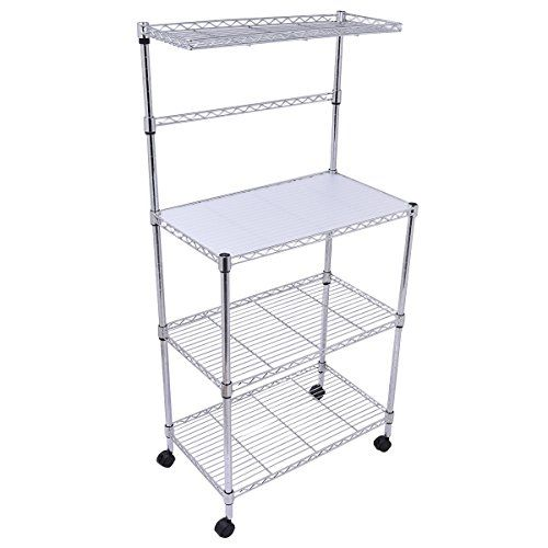 New 3 Tier Kitchen Baker S Rack Microwave Oven Stand Storage Cart