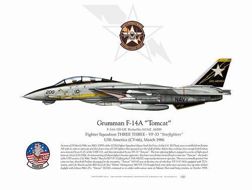 F-14A-VF-33-AB200
