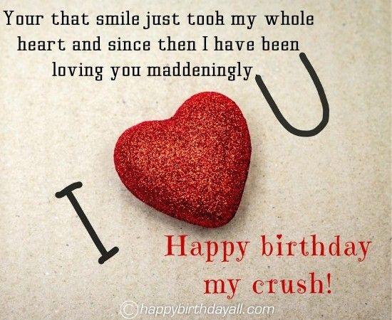 Dearest Birthday Wishes For Crush Birthday Wishes For Love Belated Birthday Wishes Happy Birthday Beautiful