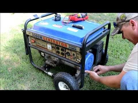 Generator Repair Troubleshooting Runs But No Power Youtube Generator Repair Electricity Generation