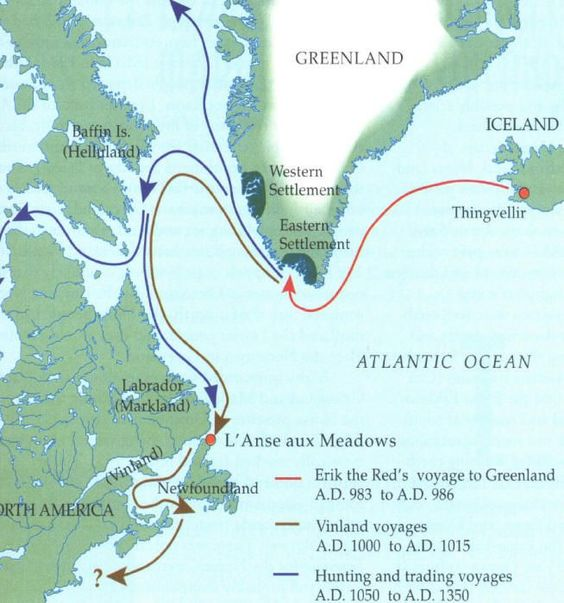 Viking Settlements In North America