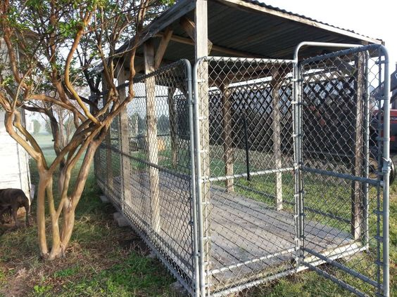 Dog kennels for sale amish and dog houses on pinterest for Amish dog kennels for sale