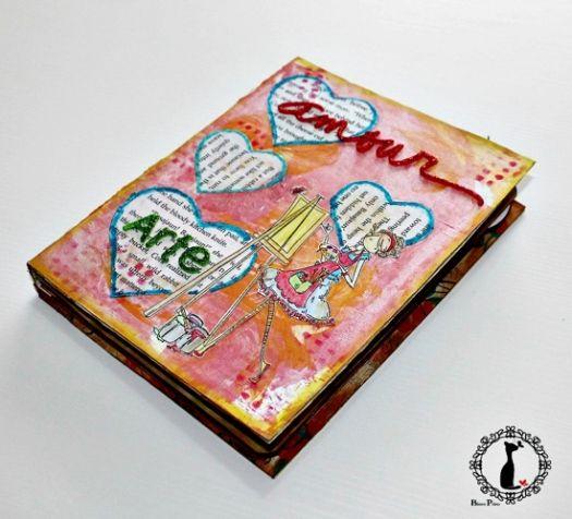 Mi Libro de Técnicas de Scrapbook www.artescrap.com