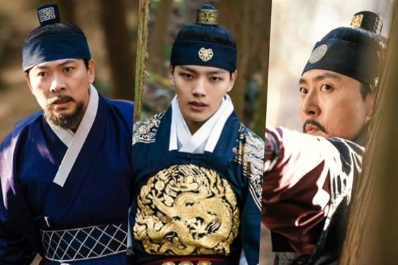 """Yeo Jin Goo Tries To Fend Off Real Dangers As Fake King In """"The Crowned Clown"""""""