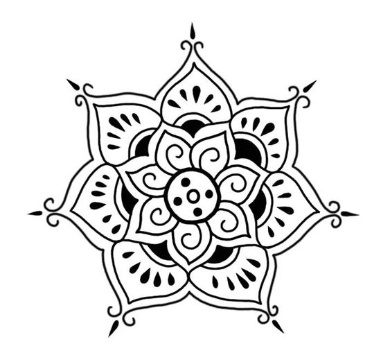 Strepik Flower Temporary Tattoo