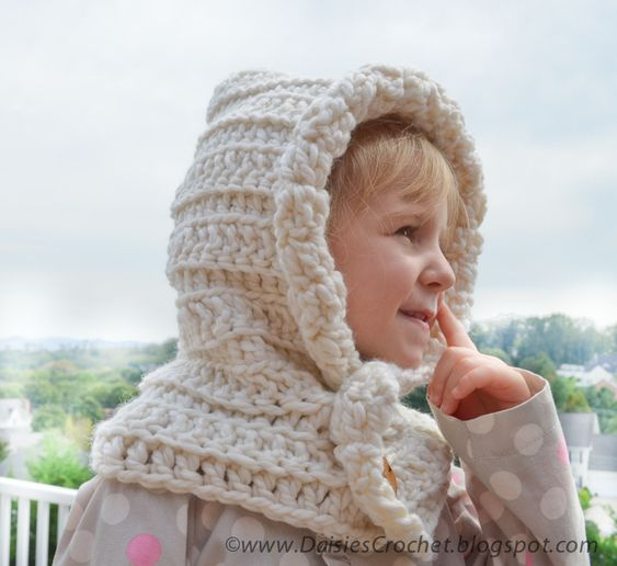 Free Crochet Pattern Childrens Cowl : free crochet childrens hoods crochet hood pattern ...
