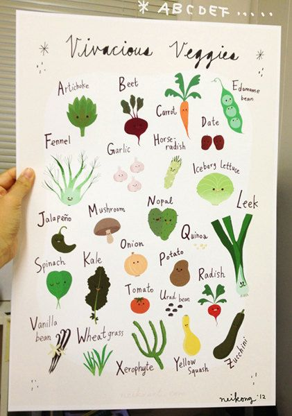 Is There Any Vegetables That Start With The Letter D