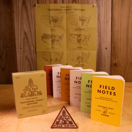 Field notes. National crop edition.: Notes Notebooks, Notebook Field, Notebooks Time, Notebooks National, Notes Colors, National Crop, Colors National