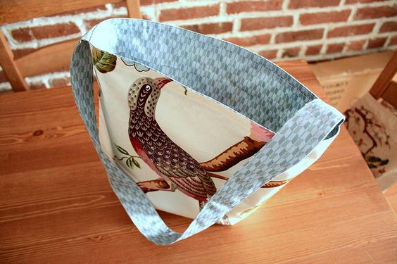 (picture only) Reversible Tote Bag