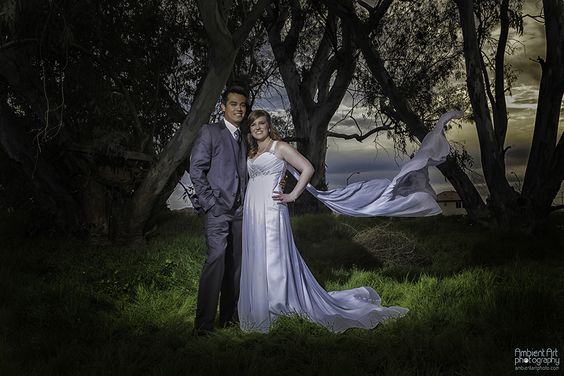 Wedding photography, bride groom, trees, field, sunset, flowers, dress, Vail, wind