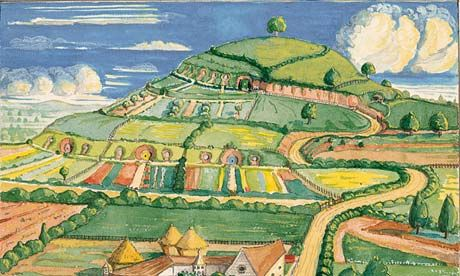 Tolkien's illustration (one of) of The Shire.