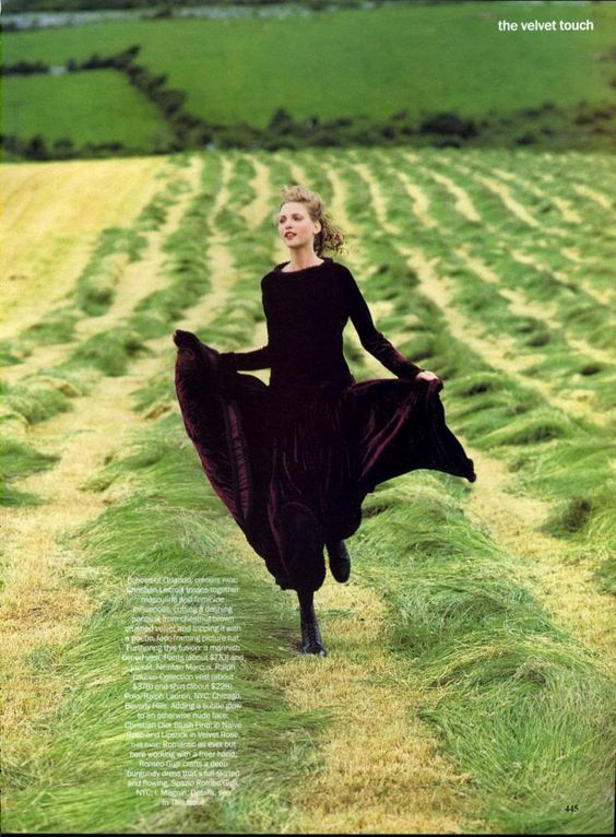 Vogue September 1993 The Velvet Touch: