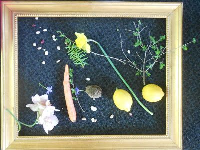 1Pgm9JQfOGGeEV1bsv8gdLtHS8M: Framed Art with Nature Kids Activity Lesson with a Nature Walk