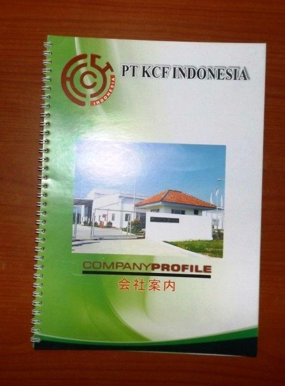 Contoh Company Profile Printed Hardcopy  Company Profile