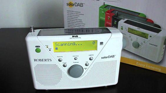 DAB+ Solar Radio Roberts  Das DAB+ Solar Radio von Roberts überzeugt durch seinen Klang,  Solarfunktion und integriertem Akku.