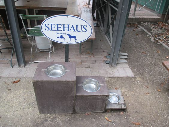 Great Seehaus Beer Garten Munich So doggy considerate Seehaus im Englischen Garten Pinterest Munich and Bavaria