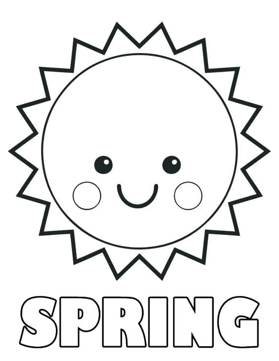 Coloring Sun Coloring Sheet Page Printable Articles With Tag Spring Coloring Sheets Sun Coloring Pages Spring Coloring Pages