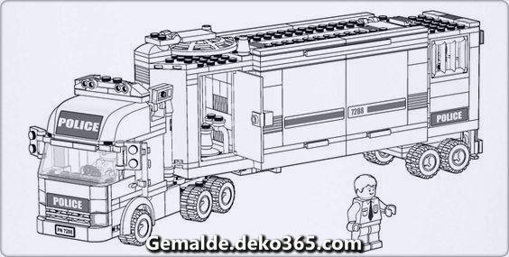 Schone Lego Schriftart Seite 01 Lego Coloring Pages Lego Coloring Truck Coloring Pages