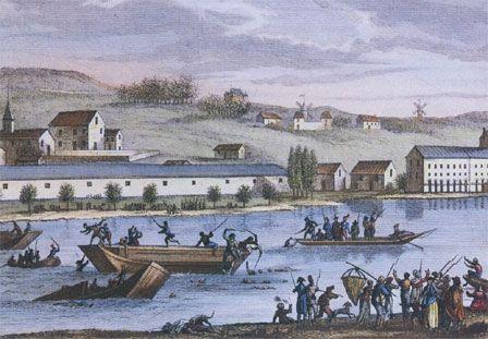 29-31 janvier 1794, on noie encore à Nantes
