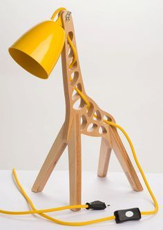 Bem Legaus!: Luminária de girafa