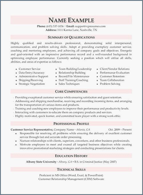 77 New Images Of Examples Of Education Support Resume Check More