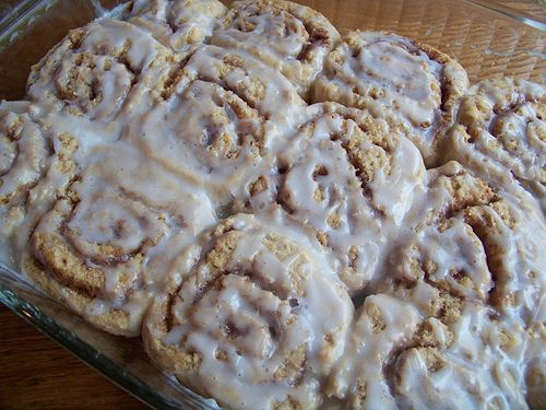 Cinnamon Roll Biscuits Recipe