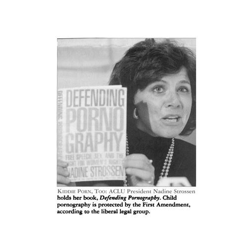 """""""America's Crazies and Loonies Union"""" Former president of the ACLU - shame on her!"""