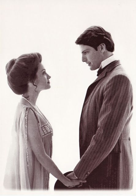 "Jane Seymour y Christopher Reeve en ""Somewhere in Time""- 1980"