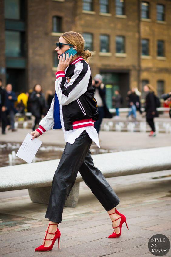 Olivia Palermo Street Style Street Fashion Streetsnaps by STYLEDUMONDE Street Style Fashion Photography: