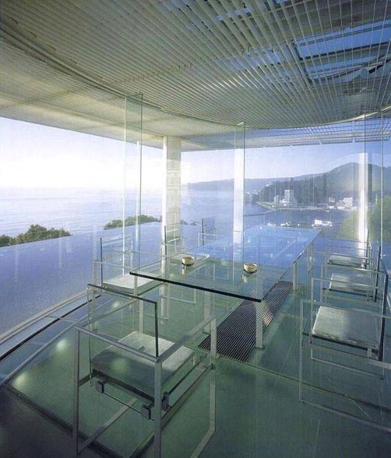 Water Glass House By Kengo Kuma