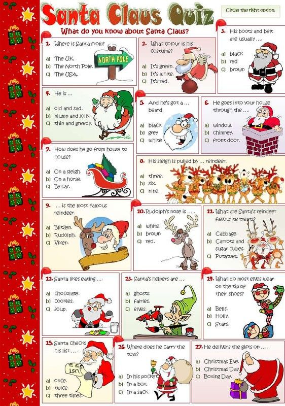 Christmas Quiz Uk Questions And Answers New Year Info 2019