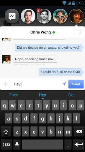 Android Updates: Chat Heads Added To Facebook Messenger, Home Permissions To Flagship App