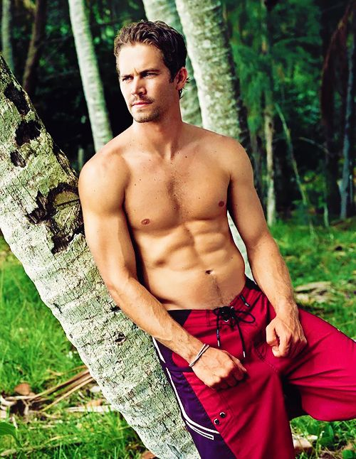 Paul Walker..handsome sweetheart in his surf shorts...local boy...=)