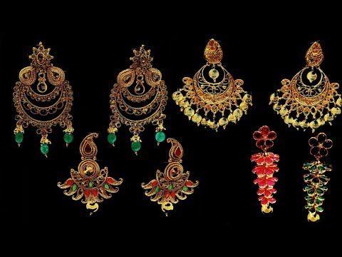 Special Earring Designs Weddings Earrings Marriage Earring Design Latest Jewelry Design Youtube Latest Jewellery Jewelry Design Jewelry