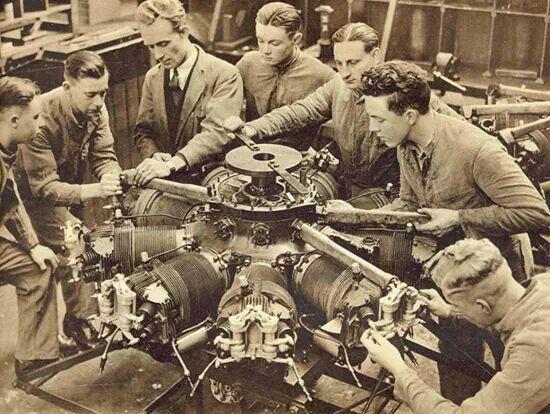 Radial Engine.