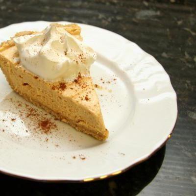 No-Bake Pumpkin Butter Pie - Photo: Diana Rattray