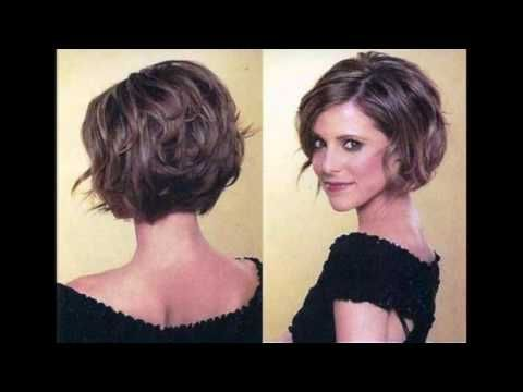 Dominique Sachse Hair Back View Google Search Short Hairstyles For Thick Hair Thick Hair Styles Short Wavy Hair