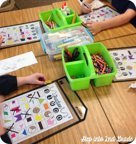 Step into 2nd Grade with Mrs. Lemons- fractions