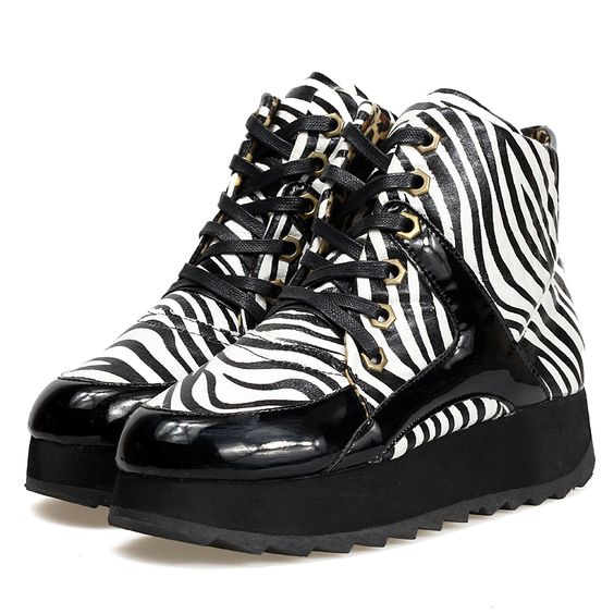 $38 Zebra Winter Boot