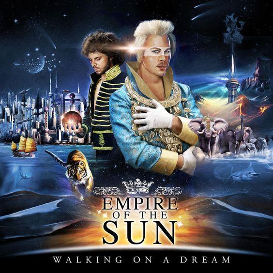 Empire of the Sun – Walkin on a Dream (single cover art)