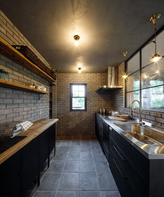 House-21 インダストリアルデザインの キッチン の dwarf インダストリアル | homify