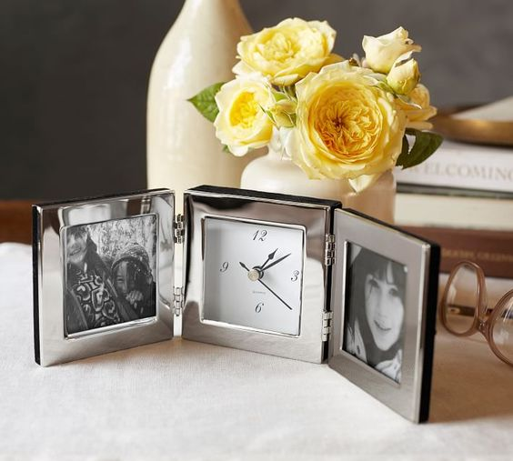 Travel Clock with Frame