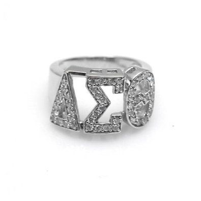 Beautiful ring delta sigma theta pinterest beautiful for Delta sigma theta jewelry